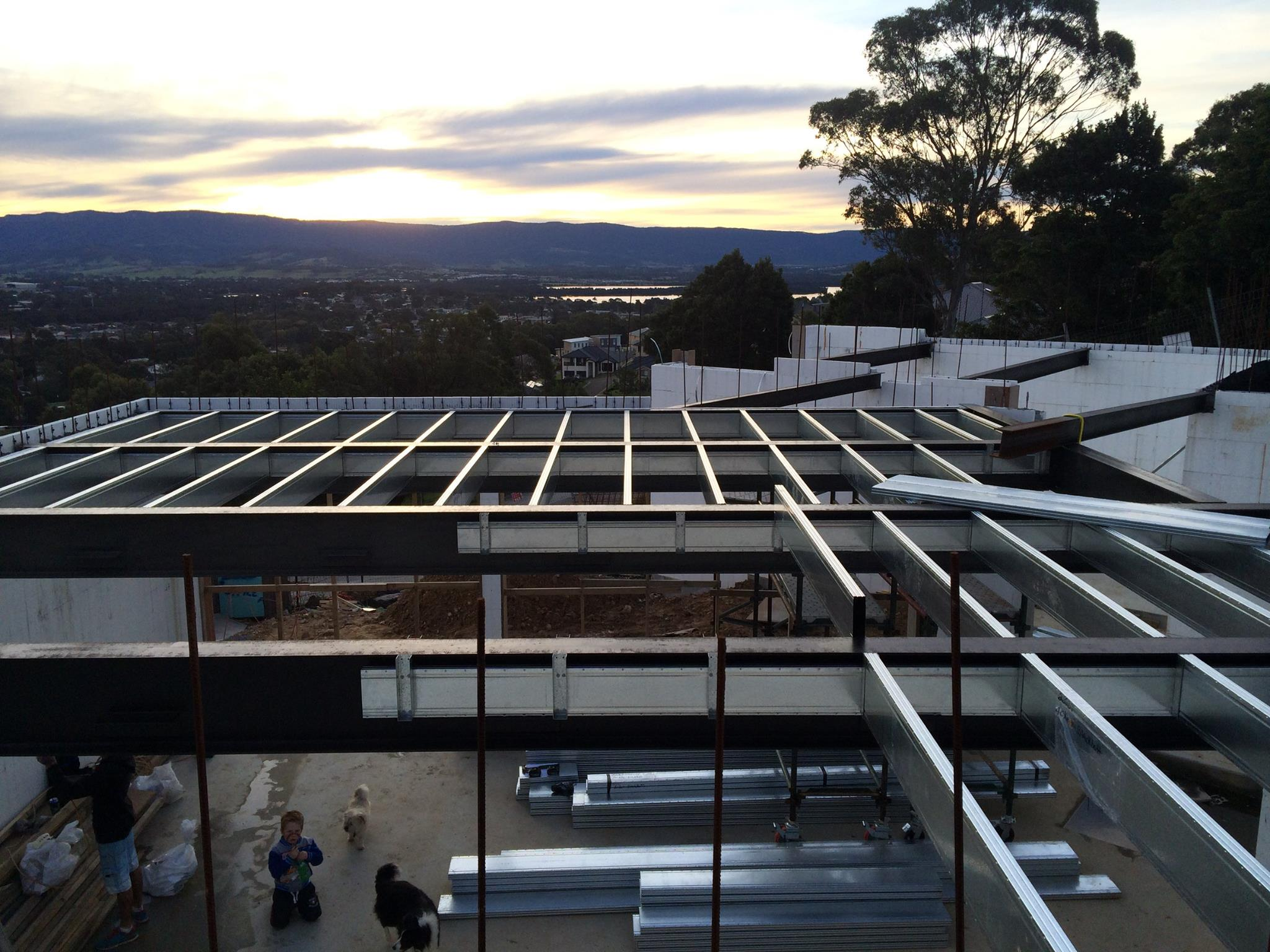 Spantec Steel Floor Amp Roof Frame Systems Bearers Joists