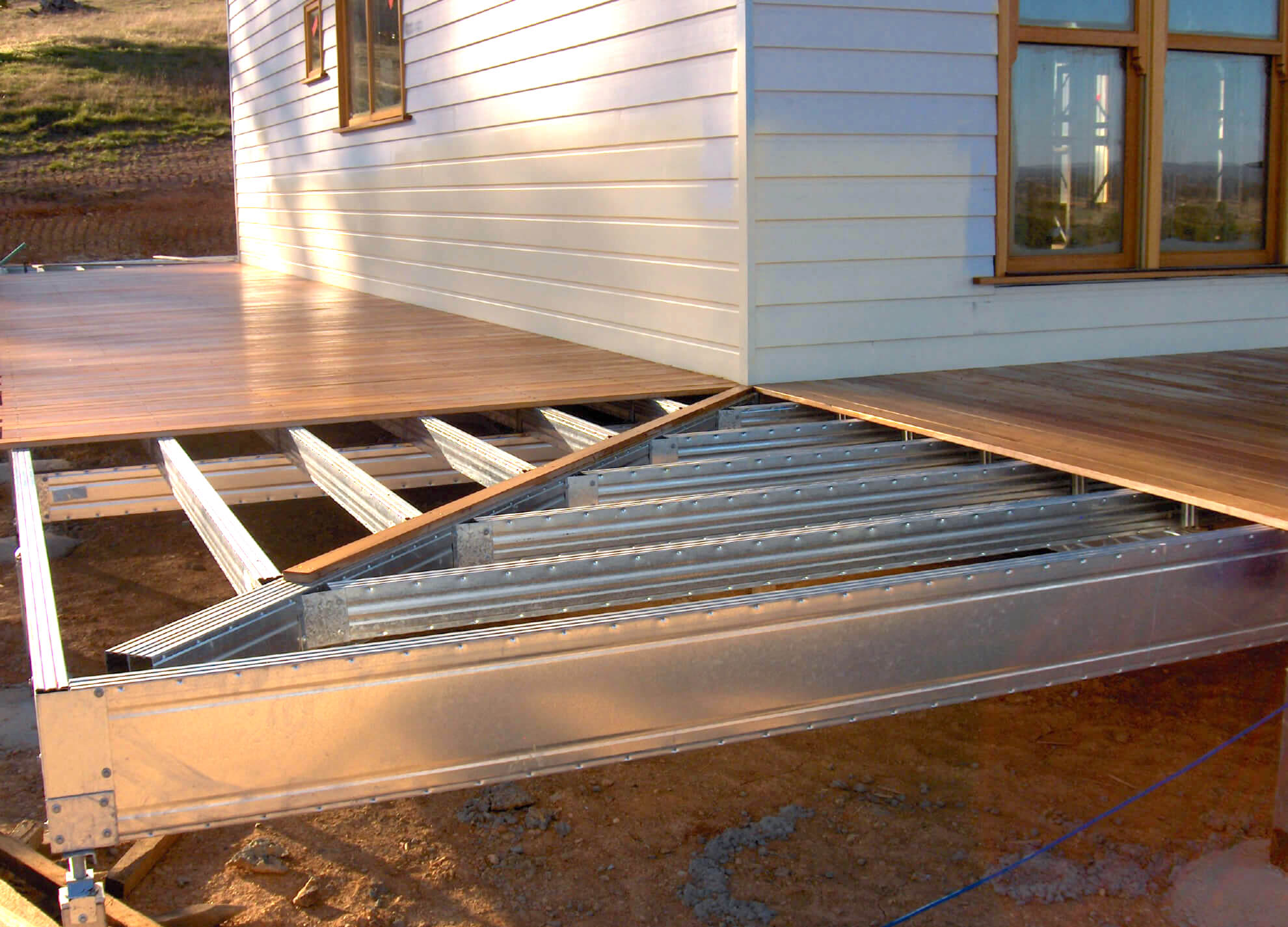 Boxspan Diy Steel Deck Kits Amp Verandah Floor Frames Non