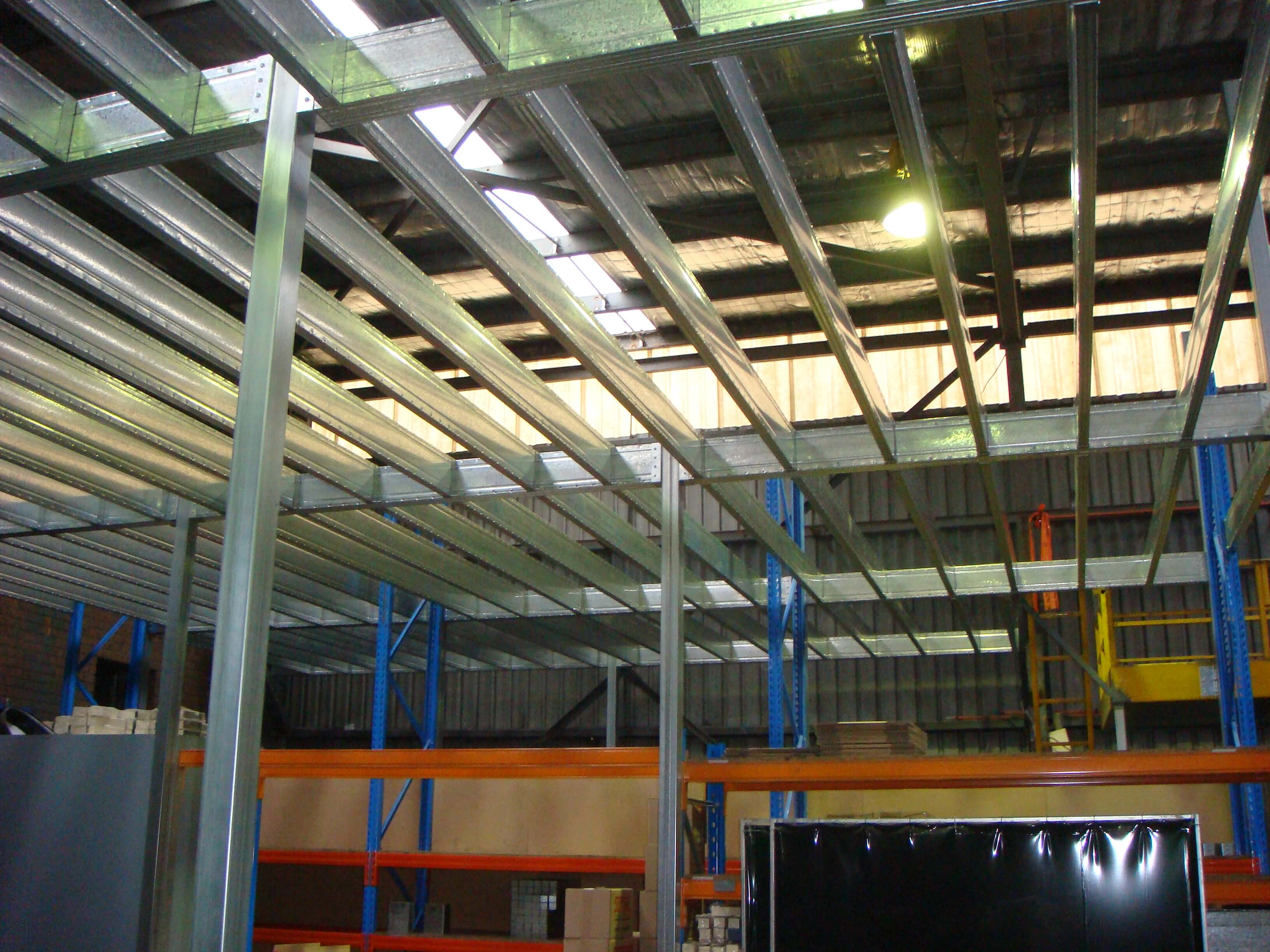 Boxspan Mezzanine floor adds storage space