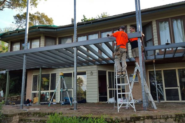 Installing a Boxspan Deck on a two-storey house