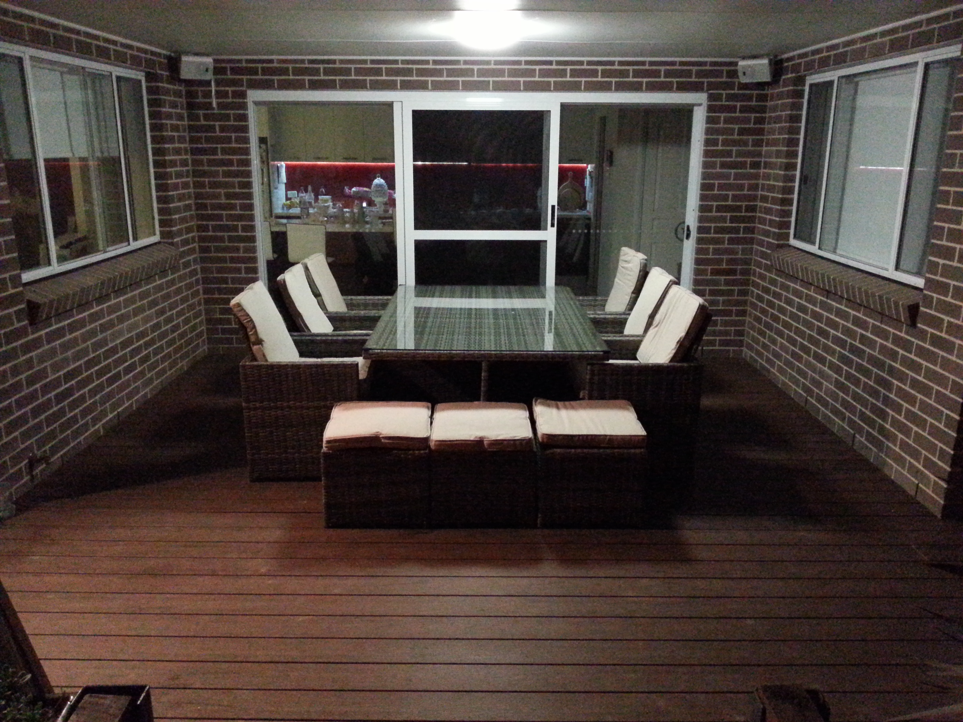 Completed deck over Boxspan frame