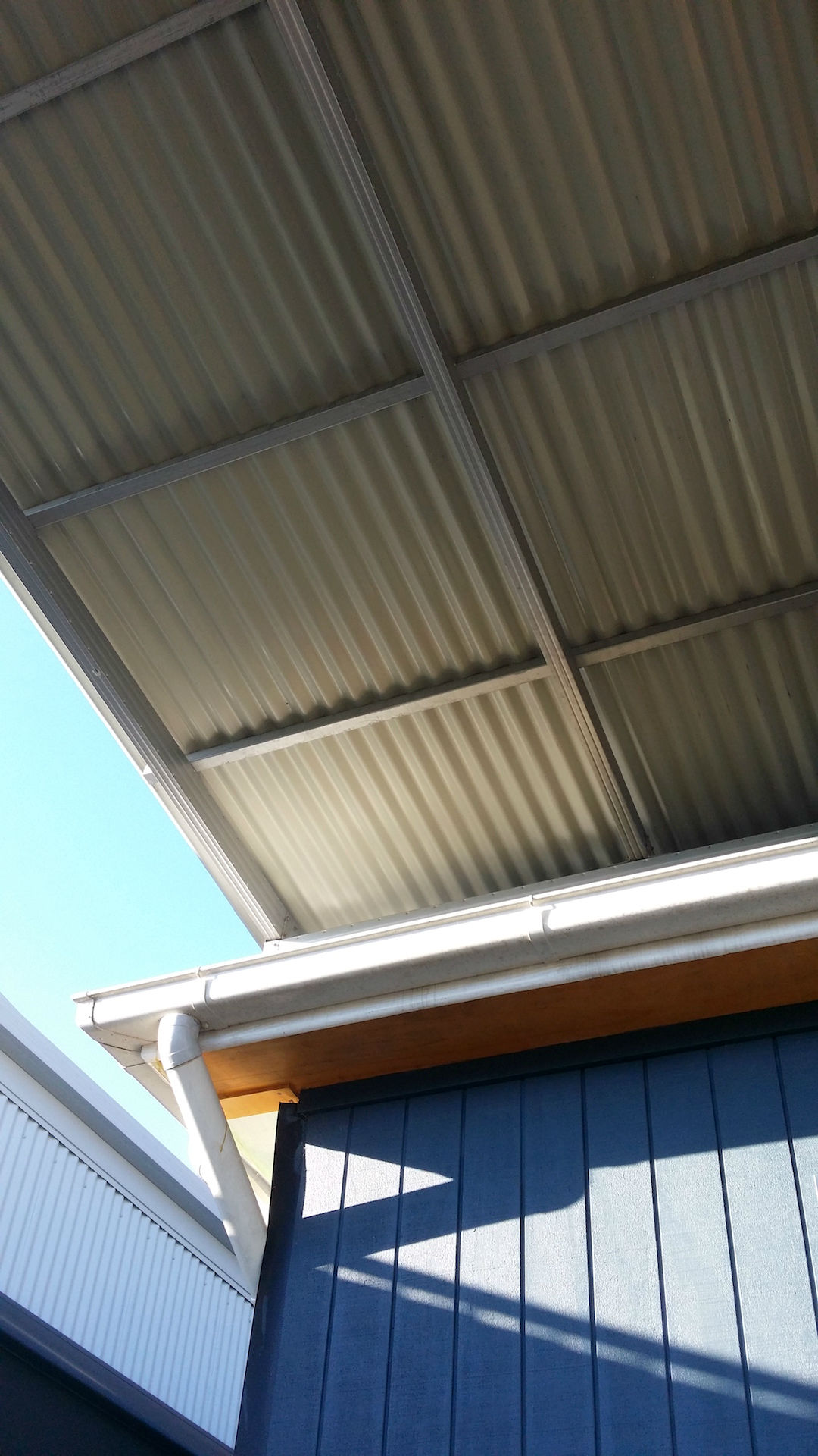 Boxspan rafters for pergola
