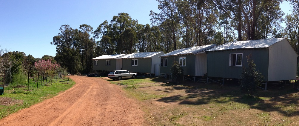 Completed freestanding dwellings on Boxspan frames and Ezipier